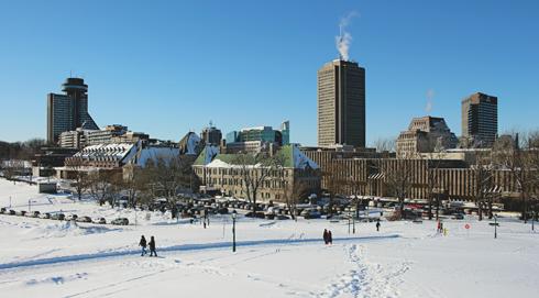 Plains of Abraham Quebec City