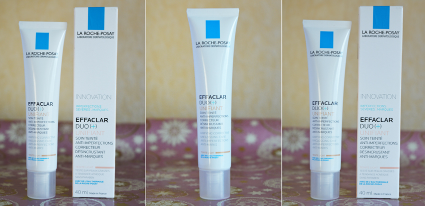 la roche posay effaclar duo unifiant light