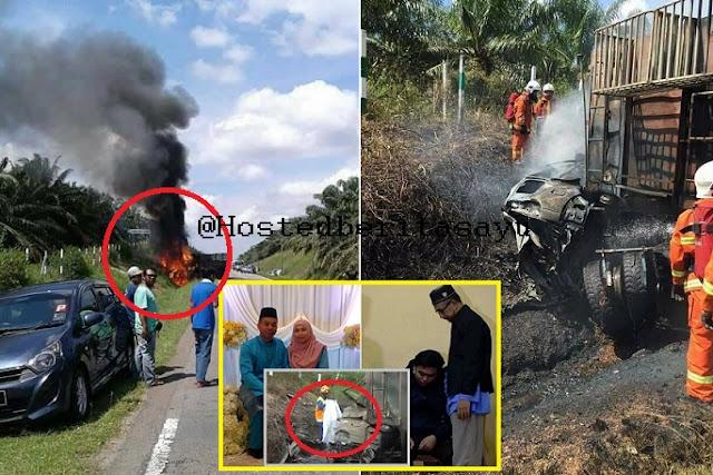 SAYU !! Mereka Meraung Minta Tolong 6 Sekeluarga RENTUNG Terbakar ... Hazim Kini Yatim Piatu (8 Gambar)