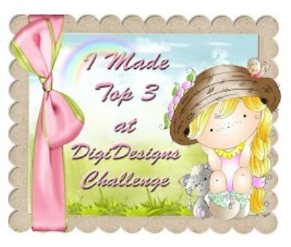 Top 3 at Di's Digi Designs challenge