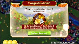 fv2ce, Golden Gloves, Barn Nails, Silver Stamps, Gold Stamps