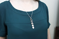 Sci Chic Moon Phase Necklace