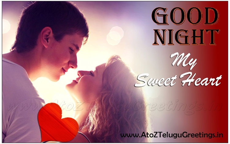 Love Heart Good Night Wallpaper : Good Night Image With Love couple Hd Wallpaper Images