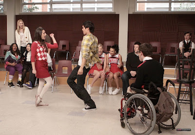 "Recap/review of Glee 1x14 ""Hell-o"" by freshfromthe.com"
