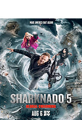 Sharknado 5: Aletamiento global (2017) BDRip 1080p Latino AC3 2.0 / Español Castellano AC3 5.1 / ingles DTS 5.1