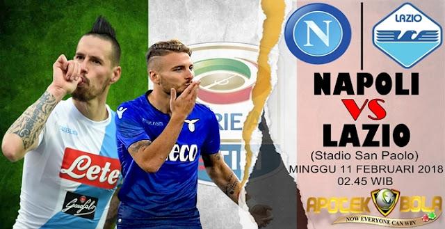 Prediksi Napoli vs Lazio 11 Februari 2018