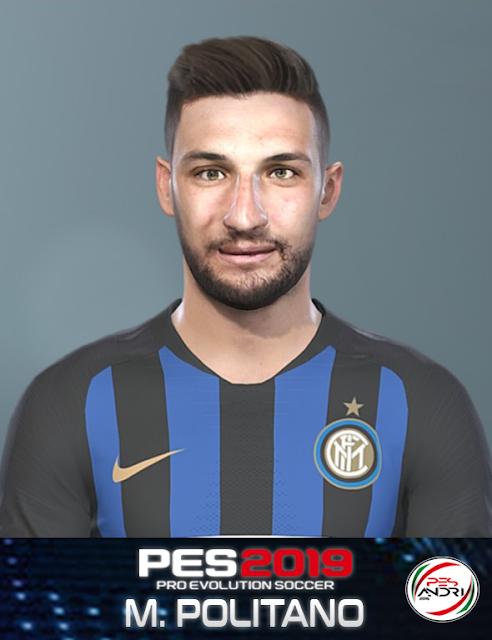 PES 2019 M. Politano Face By Sofyan Andri