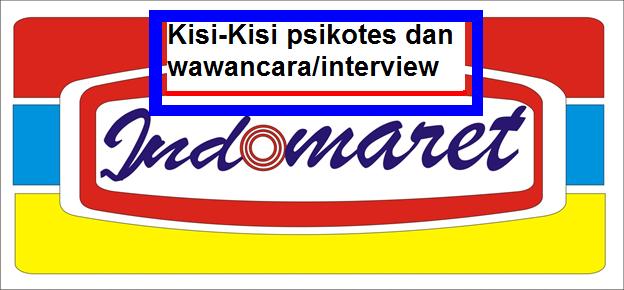 Kisi Kisi Tes Psikotes Di Indomaret Wawacara Interview Lengkap