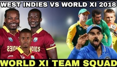 WINDIES vs WORLD XI Dream11 Predictions & Betting Tips,  2018 Today Match Predictions