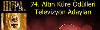 74 altin kure televizyon adaylari