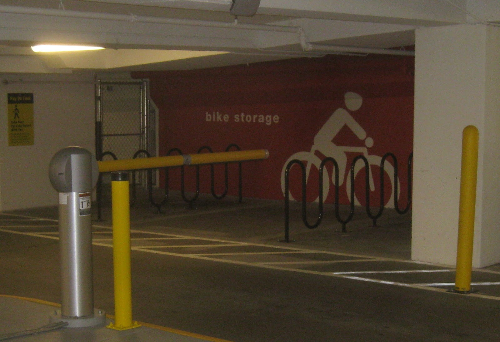 Parking Garage Bike Rack Transportation Nag Citytarget A Transportation Near Miss