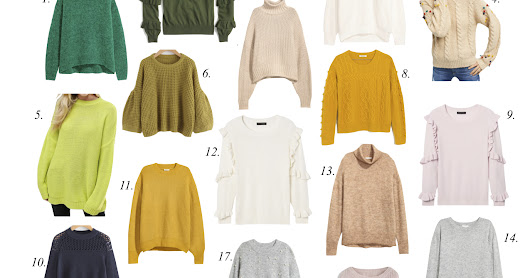 Tuesday Trends: The Top 20 Sweaters You'll Want For Fall...