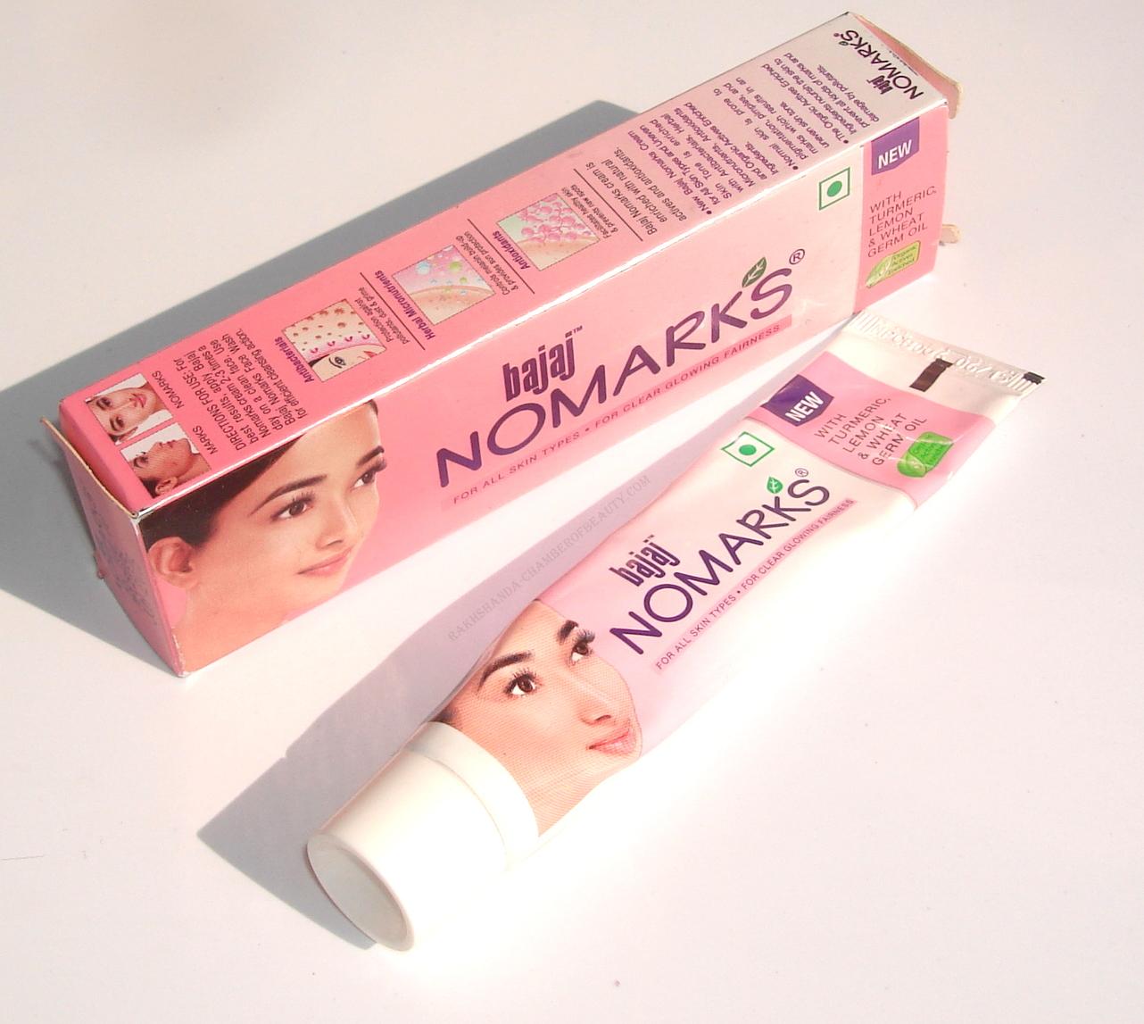Bajaj Nomarks Cream for All Skin Types Review, Price & Details/www.rakhshanda-chamberofbeauty.com/skincare