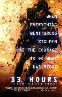 Poster Of 13 Hours 2016 In Hindi Bluray 720P Free Download