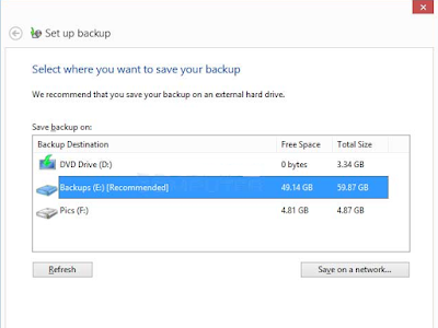 Cara membuat Windows system image di Windows 7 dan Windows 8