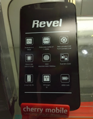 Cherry Mobile Revel, 5-inch HD Octa Core for only Php1,999