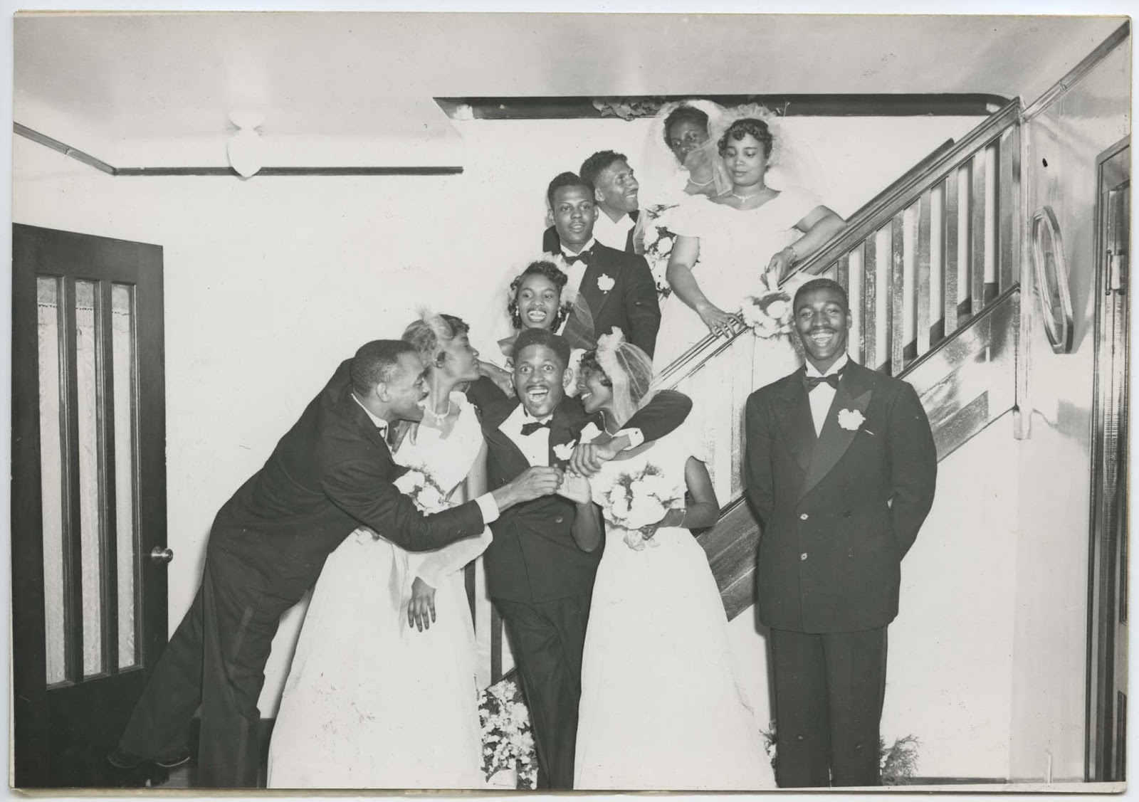 Beautiful 24 Charming Black and White Photos of African-American Weddings in  KH02