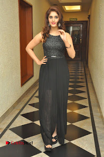 Actress Surabhi Stills in Black Long Dress at turodu Audio Launch  0091.JPG