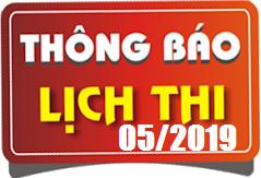 Lịch thi sát hạch lái xe ô tô B1, B2, D, E tháng 05/2019 tại Hà Nội