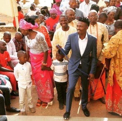 BBA winner Efe's thanksgiving service in Jos