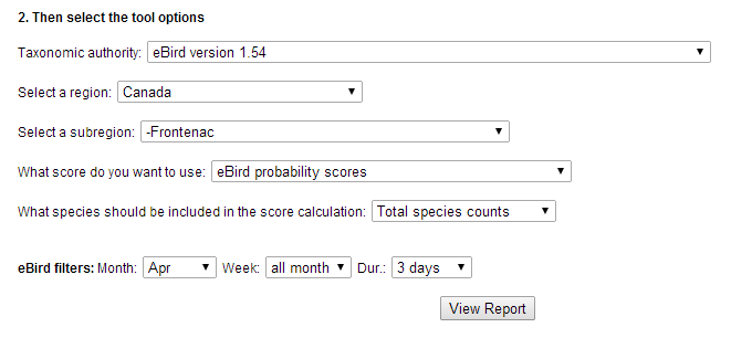 The Nomadic Naturalist: How to use your eBird data to plan your next