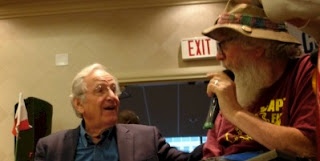 Sen. Harkin an ADA supporter with Bob Kafka of ADAPT