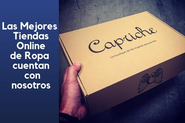 cajas personalizadas para envios de ropa