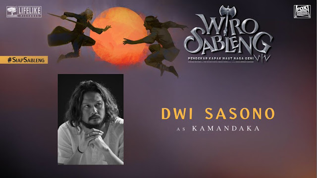 Dwi Sasono sebagai Kamandaka/ Sumber foto @LifeLikePictrs