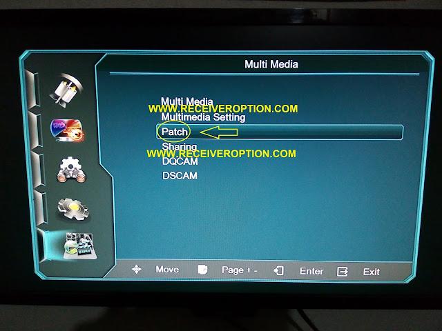NEWSAT O2 PLUS HD RECEIVER POWERVU KEY OPTION