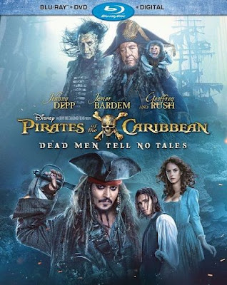 Pirates of the Caribbean Dead Men Tell No Tales 2017 Daul Audio ORG BRRip 480p 200Mb ESub HEVC x265