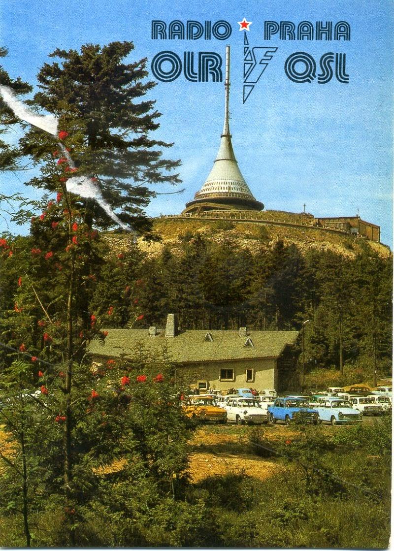 Una cartolina di Radio Praga.