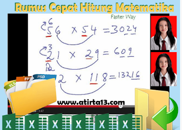 Trik Rumus Cepat Hitung Matematika Untuk Semua Jenjang