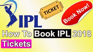 ipl 2018,vivo ipl 2018,ipl ticket booking,online ipl ticket booking,ipl 2018 tickets bookmyshow
