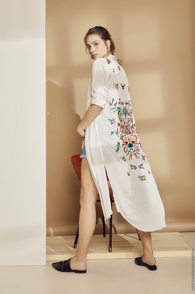 Moda primavera verano 2019 ropa de mujer.