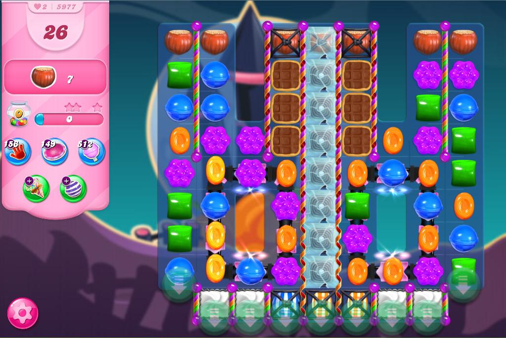 Candy Crush Saga level 5977