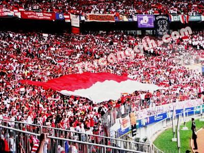 Suporter Sepak Bola Indonesia Terbanyak