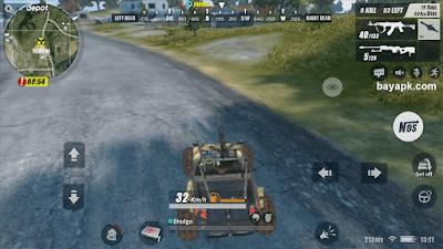 Kendaraan di Rules Of Survival