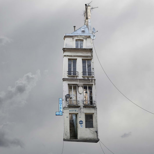 The Flying Houses of Laurent Chéhère