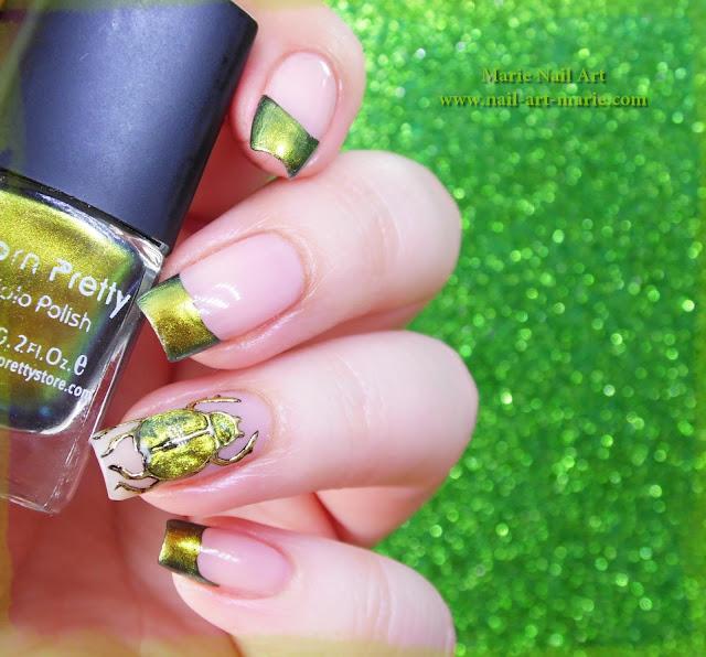 nail art scarabée2