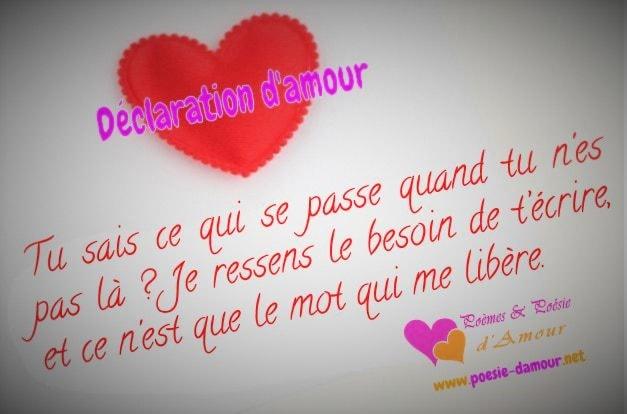 Image & Texte d'amour