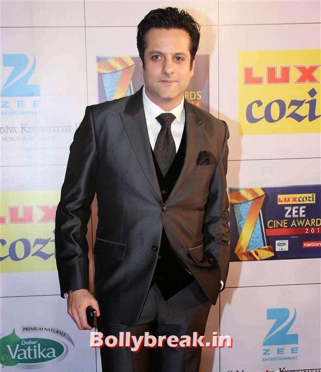 Fardeen Khan at Zee Cine Awards 2014, Zee Cine Awards 2014 Red Carpet Pics