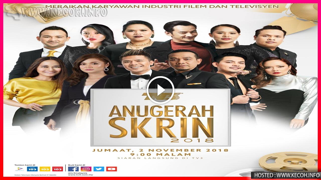 Inilah Senarai Akhir Calon Anugerah Skrin 2018