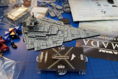 Star Wars Armada Tabletop game Star Destroyer