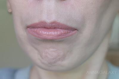 Губы с Faberlic Berry Kiss губная помада 40604 ягодная фантазия