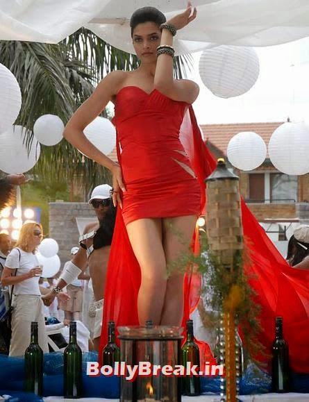 Deepika Padukone in Love 4 Ever, Hot Stills from Item Songs of Telugu, Tamil South Indian Cinema
