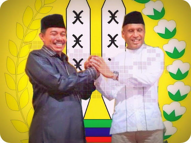 Benhur Tomi Mano dan Rustan Saru Resmi Pimpin Kota Jayapura