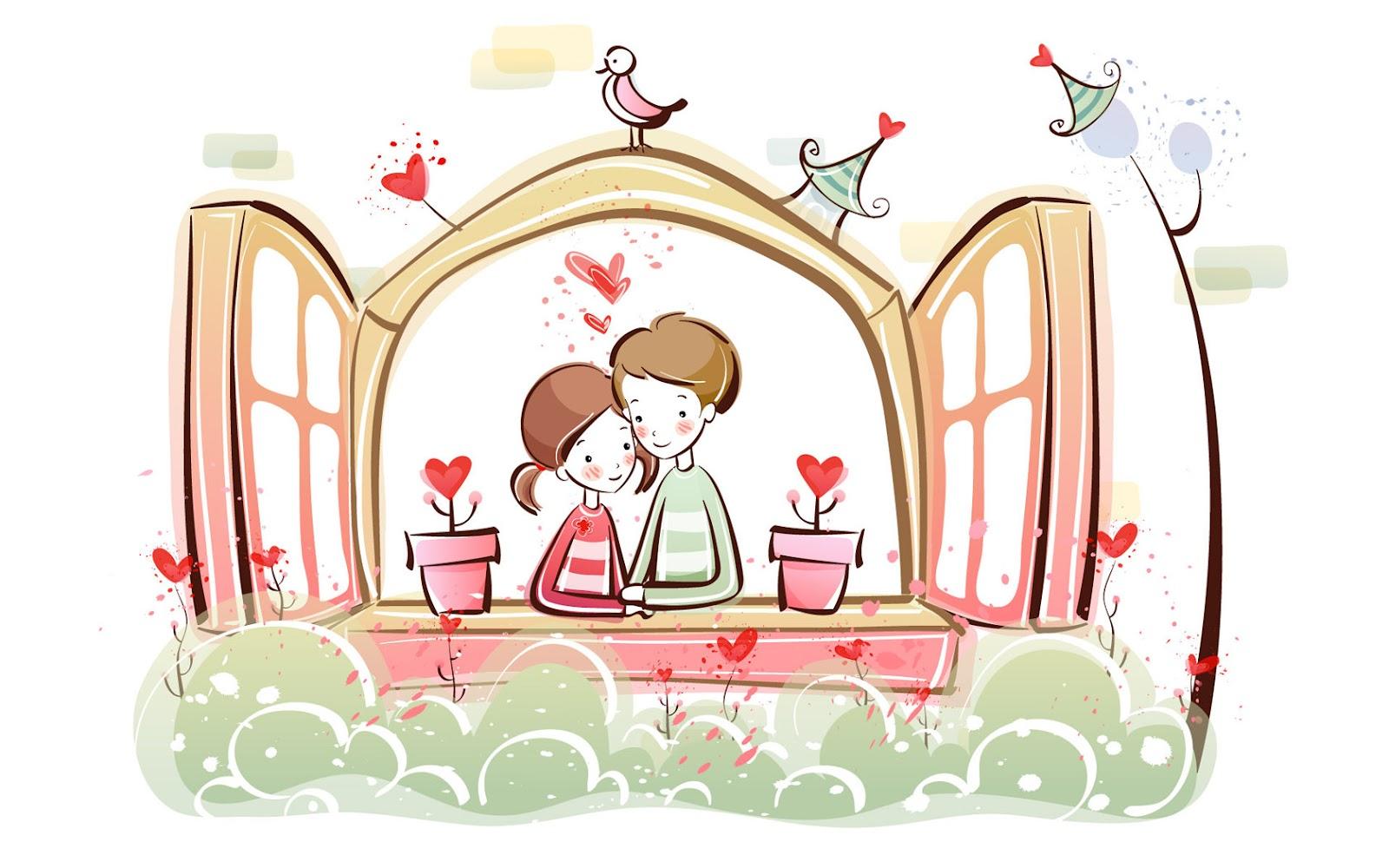 ✓ Terbaru Gambar Kartun Romantis Hd
