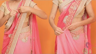 Easy and Simple Saree Draping Video for You
