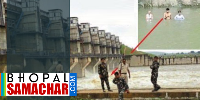 आंदोलन: बांध के सामने खड़े हो गए किसान, गेट नहीं खोलने दे रहे | SHIVPURI MP NEWS