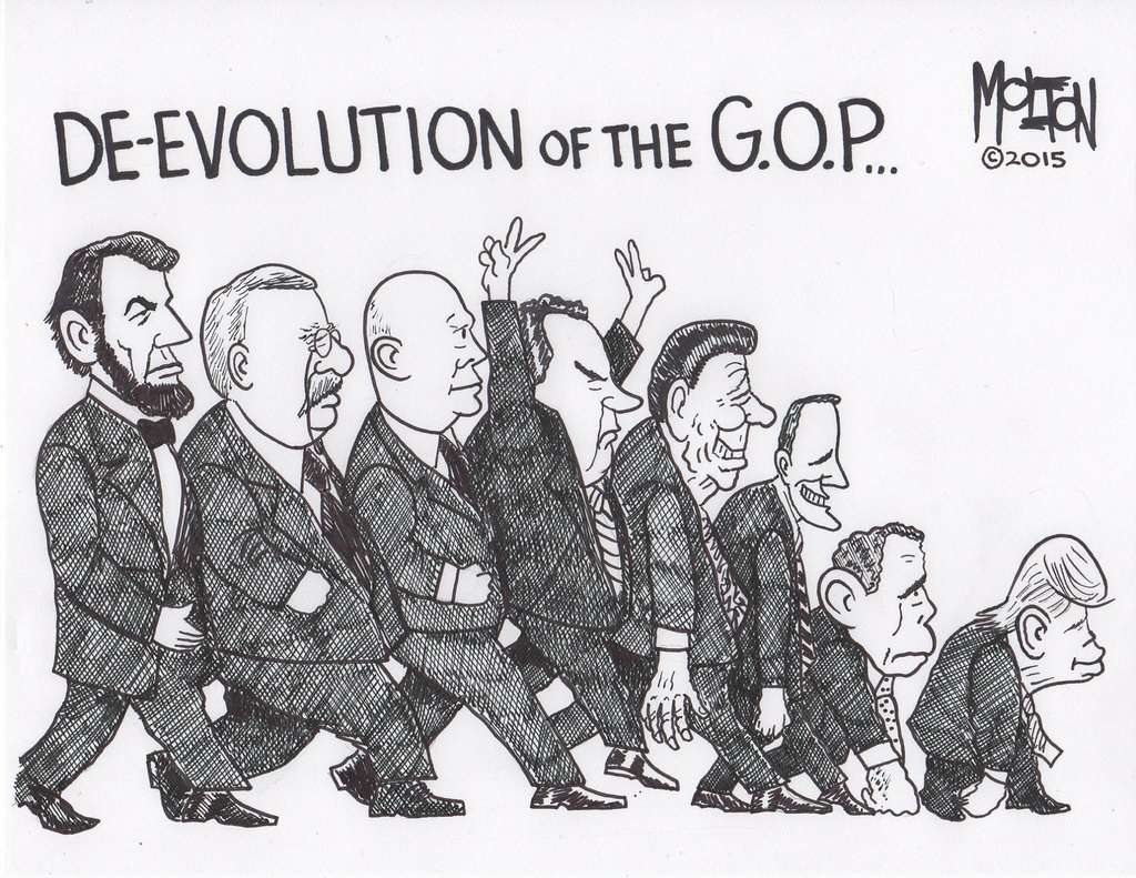 Image result for republican devolution